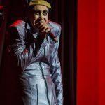 Sergey Babkin in the performance 'Fat'